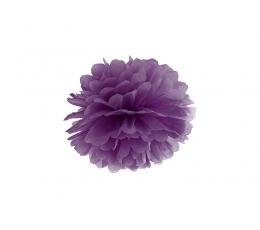 Papīra bumba, violets (25 cm)
