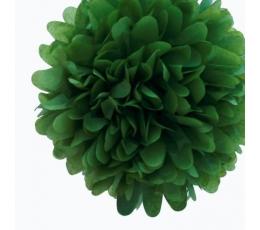 Papīra bumba, zaļa (2 gab./19 cm)