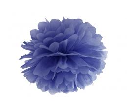 Papīra bumba, zils (35 cm)