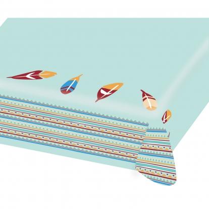 """Papīra galdauts """"Indiāņu ciemats""""  (115x175 cm)"""