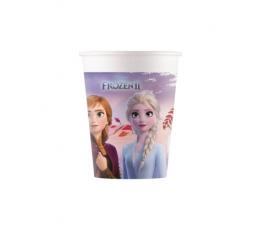 """Papīra glāzītes """"Frozen"""", kompostējamas (8 gab/200 ml)"""