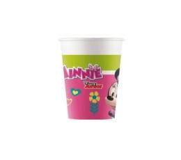 """Papīra glāzītes """"Pelīte Minnija"""" (8 gab/200 ml)"""