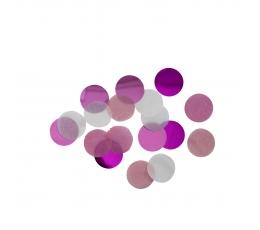 Papīra konfetti, spilgti rozā (15 g)