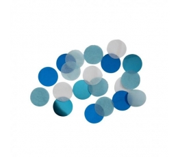 Papīra konfetti, zili (15 g)