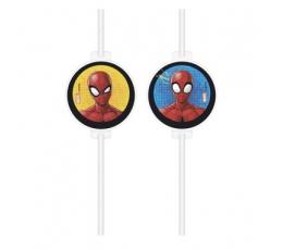 "Papīra salmiņi ""Spider man"" (4 gab)"