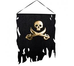 Pirātu karogs (58 x 77 cm)