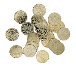 Pirātu monētas (72 vnt./ 3 cm)