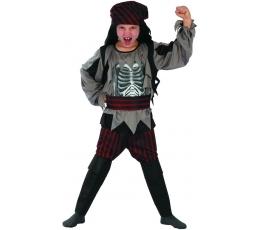 Pirātu skeleta kostīms (L)