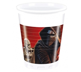 "Plastmasas glāzītes ""Star Wars"" (8 gab/ 200 ml)"