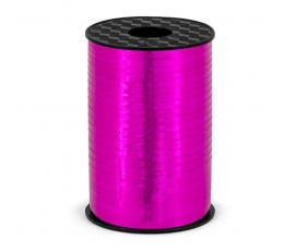 Plastmasas lenta, koši rozā, spīdīga (5 mm/225 m)