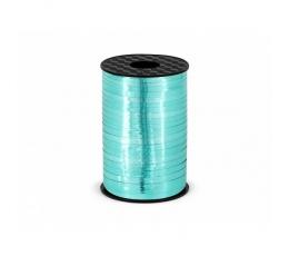 Plastmasas lenta, spīdīga tirkīza krāsā (5 mm / 225 m)