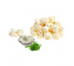 Popkorns ar skābā krējuma un diļļu garšu (250g/L)