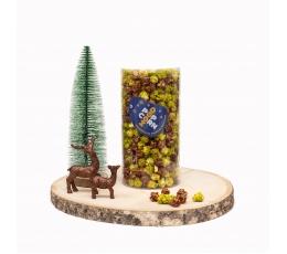 """Popkorns """" Ziemassvētku mežs"""" (250g / M)"""