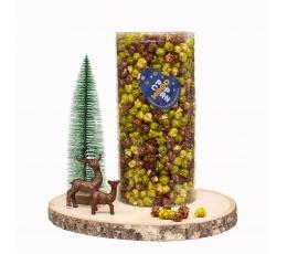 """Popkorns """" Ziemassvētku mežs"""" (500g / L)"""