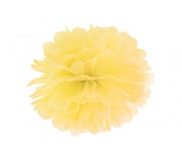 Pūkainis, dzeltens (35 cm )