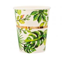 """Glāzītes """"Zelta palmas"""" (8 gab/250 ml)"""
