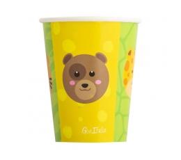 """Papīra glāzītes """"Zoodārzs"""" (8 gab/250 ml)"""