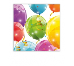 "Salvetes ""Balonu Fiesta"" (20 gab.)"