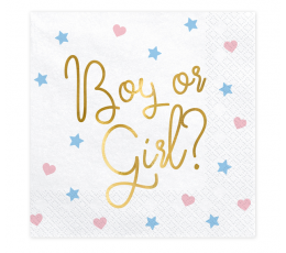 "Salvetes ""Boy or Girl"" (20 gab.)"