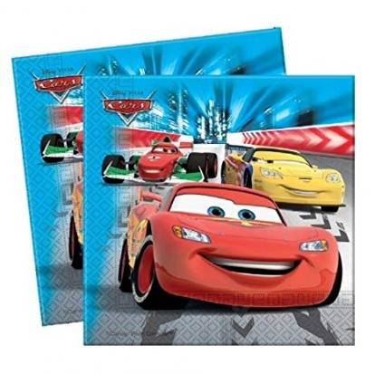 "Salvetes ""Cars Racers"" (20 gab)"