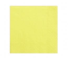 Salvetes, dzeltenas (20 gab.)