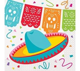 """Salvetes """"Fiesta Meksikā"""" (16 gab)"""