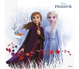 """Salvetes """"Frozen"""", kompostējamas (20 gab)"""