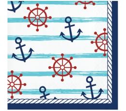 """Salvetes """"Jūras svētki"""", mazās (16 gab.)"""