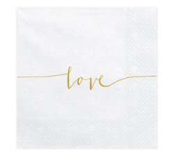 "Salvetes ""Love"" (20 gab)"