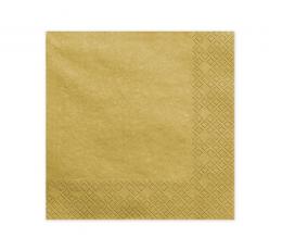 Salvetes, zelta  (20 gab)