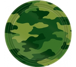 """Šķīvīši """"Armija"""" (8 gab/ 18 cm)"""