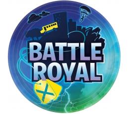 "Šķīvīši ""Battle Roayl"" (8 gab./22 cm)"
