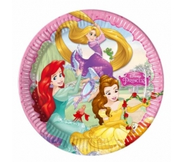 """Šķīvīši """"Disneja princeses"""" (8 gab. 23 cm)"""
