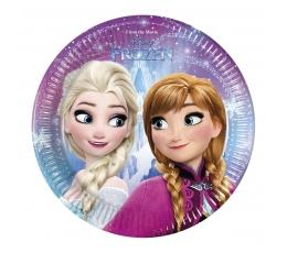 """Šķīvīši """"Frozen"""" (8 gab/20 cm)"""