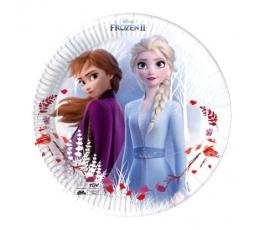 """Šķīvīši """"Frozen"""", kompostējami (8 gab/20 cm)"""