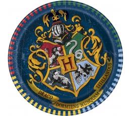 "Šķīvīši ""Harijs Poters"" (8 gab/ 17 cm)"