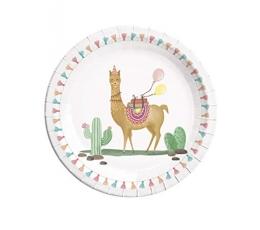 """Šķīvīši """"Lama"""" (8 gab/23 cm)"""