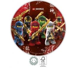 "Šķīvīši ""Lego Ninjago"" (8 gab./23 cm)"