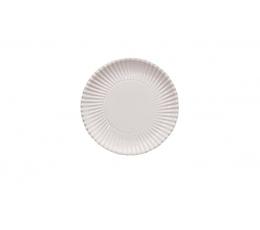 Šķīvīši - paliktņi, balti (10 gab./ 23 cm)