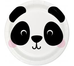 """Šķīvīši """"Panda"""" (8 gab./17 cm)"""