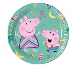 """Šķīvīši """"Peppa Pig"""" (8 gab/20 cm)"""