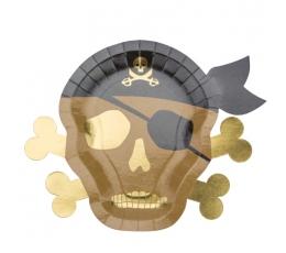 """Šķīvīši """"Pirāti"""" (8 gab./23 cm)"""