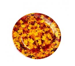 """Šķīvīši """"Rudens lapas"""" (8 gab./23 cm)"""