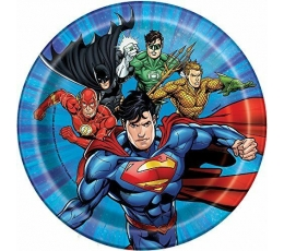 "Šķīvīši ""Supervaroņi"" (8 gab/17 cm)"