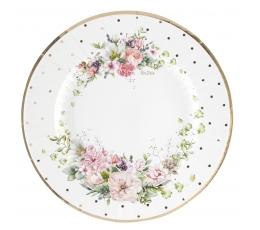 """Šķīvīši """"Ziedi"""" (8 gab./27 cm)"""