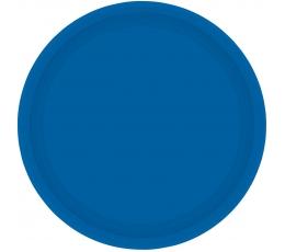 Šķīvīšī, zili (8 gab./17 cm)