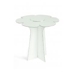 """Statīvs-paliktnis """"Ziediņš"""", balts  (30X29 cm)"""