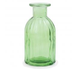 Stikla pudele/ vāze salātkrāsā (13,5 cm)