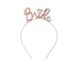 """Stīpiņa """"Bride"""", rozā - zelta krāsā"""
