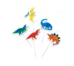 """Svecītes-irbulīši """"Dinozauri"""" (5 gab)"""